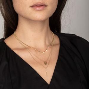 Populær og meget smuk halskæde fra Pilgrim.  Klik her og se mere.