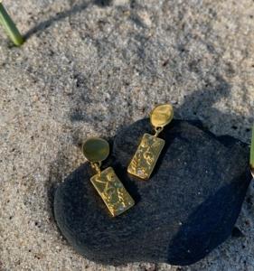 Smukke BALKA øreringe, inspireret af smukke Bornholm.STORT SOMMER HIT