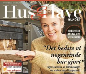 Smykketrends var med i Hus & Havebladet, februar-udgaven 2019. Super placering grundet Lene Beier og hendes valg af øreringe :-)